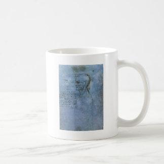 Da Vinci's Human Anatomy Coffee Mug