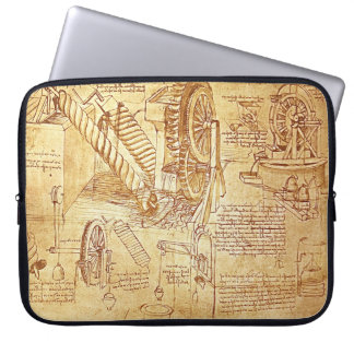 Da Vinci's Notes Laptop Cover