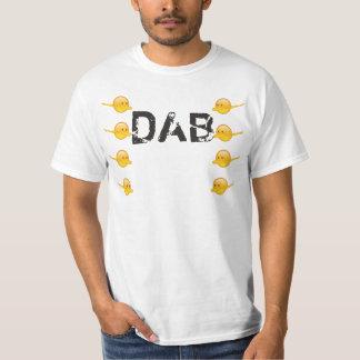 """DAB"" text&emoji T-shirt"