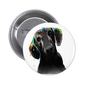 Dachshund Dog 6 Cm Round Badge