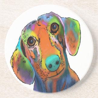 Dachshund Dog Beverage Coaster