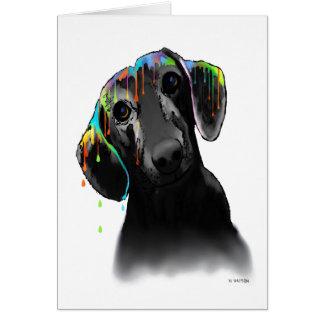Dachshund Dog Card