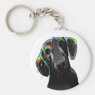 Dachshund Dog Key Ring
