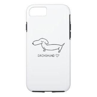 Dachshund Love iPhone 8/7 Case