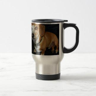 Dachshund Love Stainless Steel Travel Mug