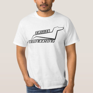Dachshund T-Shirt - German Engineering