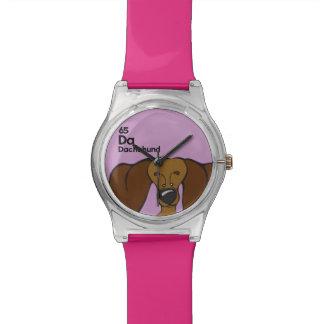 Dachshund - The Dog Table Watch