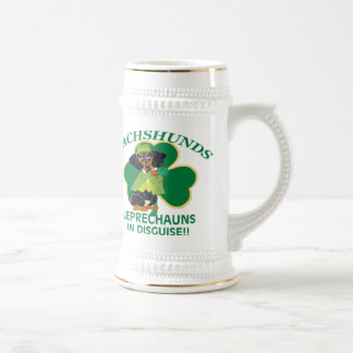 Dachshunds Are Leprechauns In Disguise Beer Stein
