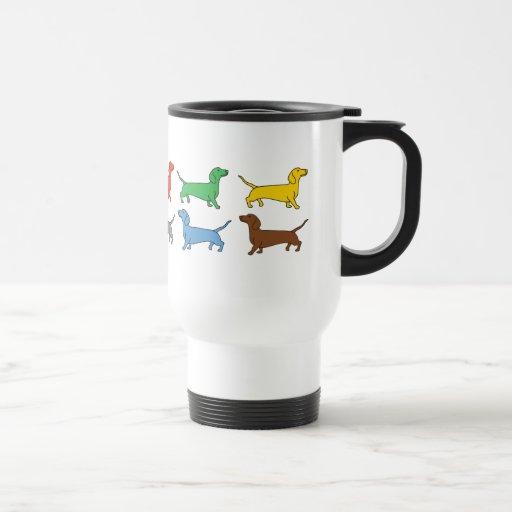 Dachshunds Coffee Travel Mug