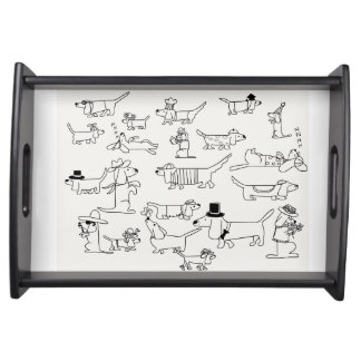 Dachsunds!! Dachsunds!! Serving Tray