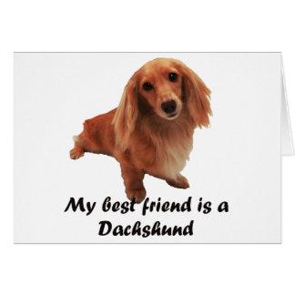 """Dackel"" Greeting Card"