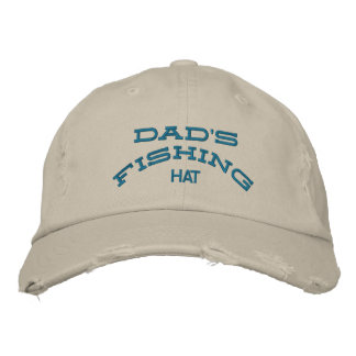 dad fishing hat embroidered hats