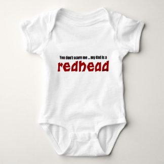 Dad is a Redhead Baby Bodysuit
