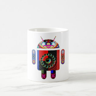 Daddy and Baby Android  -  Art101 by Navin Mugs