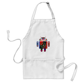 Daddy and Baby Android  -  Art101 by Navin Standard Apron
