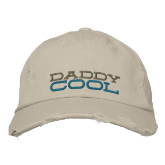 daddy cool embroidered chino distressed cap embroidered baseball cap