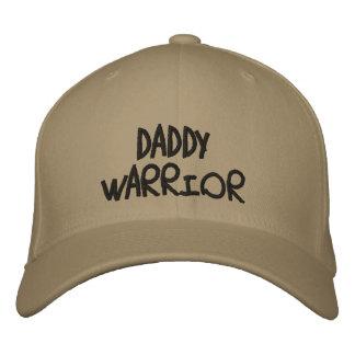Daddy Warrior Baseball Hat Embroidered Baseball Cap