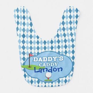 Daddy's Caddy Bib