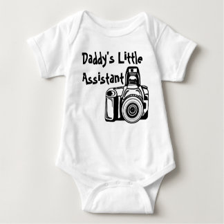 Daddy's Little Assistant Baby Bodysuit