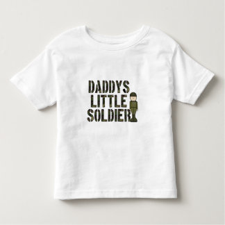 Daddys Little Soldier Toddler T-Shirt