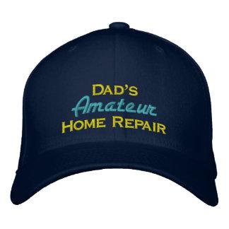 Dad's Amateur Home Repair Embroidered Baseball Cap