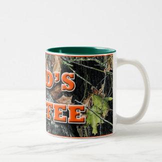 Dad's Coffee Camo Coffee Mug