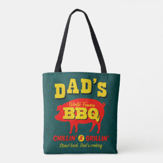 Dad's Cooking Tote Bag