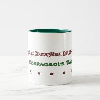 Dads Mug Courageous Dad