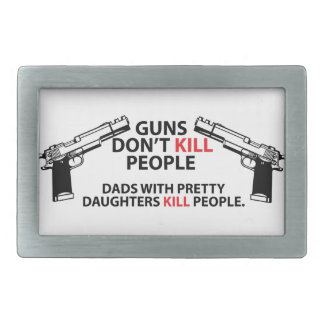 Dads with pretty daughters belt buckles