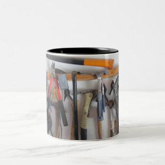 Dad's workshop Two-Tone coffee mug