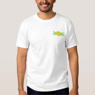 Daffodil Embroidered T-Shirt
