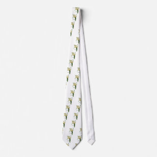 Daffodil or Narcissus By Pierre Joseph Redoute Tie