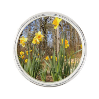 Daffodils at Easter Lapel Pin
