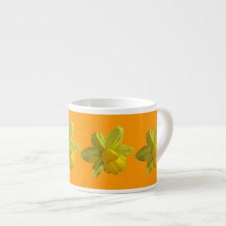 Daffodils custom espresso cup