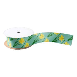 Daffodils Satin Ribbon