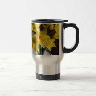 Daffodils Stainless Steel Travel Mug