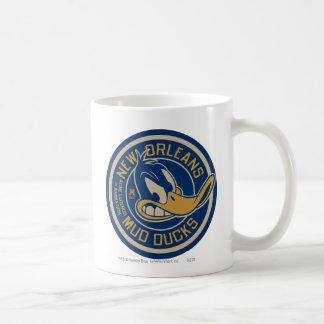 DAFFY DUCK™ Mud Ducks Round Logo Coffee Mug