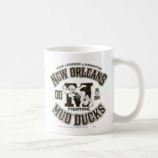DAFFY DUCK™ New Orleans Mud Ducks Logo 2 Coffee Mug