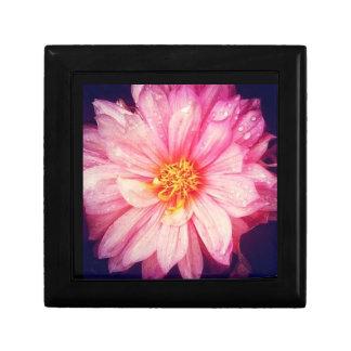 Dahlia Flower Jewellery/Gift Box