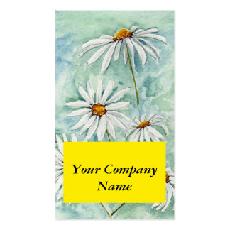 'Daisies' Profile Card Pack Of Standard Business Cards