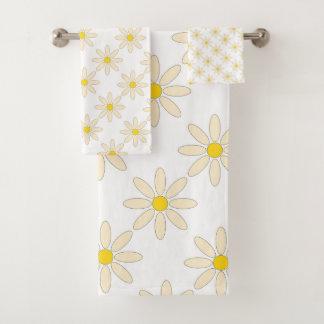 Daisy Bath Towel Set