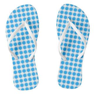 Daisy-Crazy_Blue(C)Multi-Styles Jandals