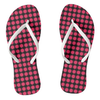 Daisy-Crazy_Hot-Pink(C)Black_Multi-Styles Jandals