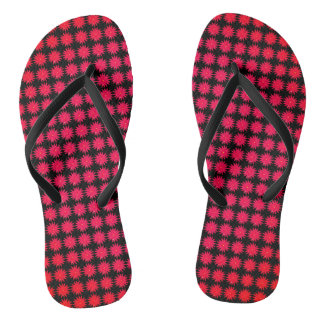 Daisy-Crazy_Red-Rose(C)Black_Multi-Styles Jandals