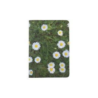 Daisy Flower Passport Holder