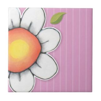 Daisy Joy pink Tile