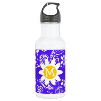 Daisy on Han Purple Paisley 532 Ml Water Bottle