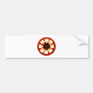Daisy Orange The MUSEUM Zazzle Gifts Bumper Stickers