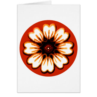 Daisy Orange The MUSEUM Zazzle Gifts Cards