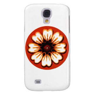 Daisy Orange The MUSEUM Zazzle Gifts Samsung Galaxy S4 Cover